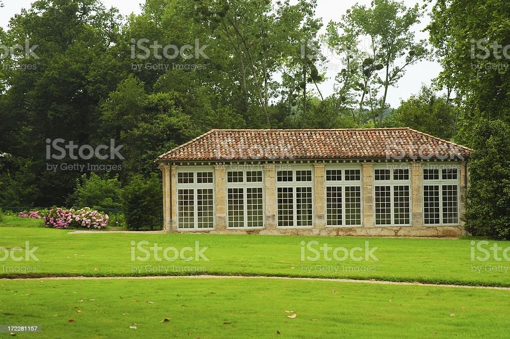 Orangerie stock photo