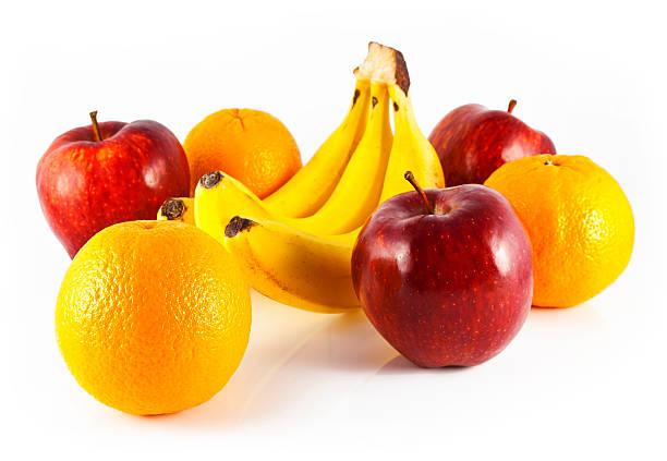Äpfel Birnen und Bananen – Foto