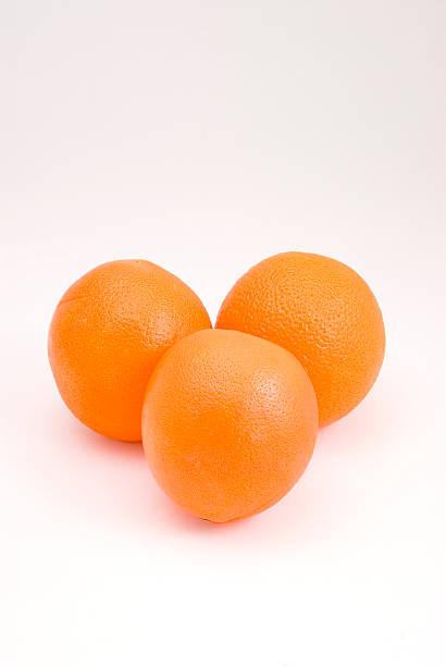 Oranges in Triangle stock photo