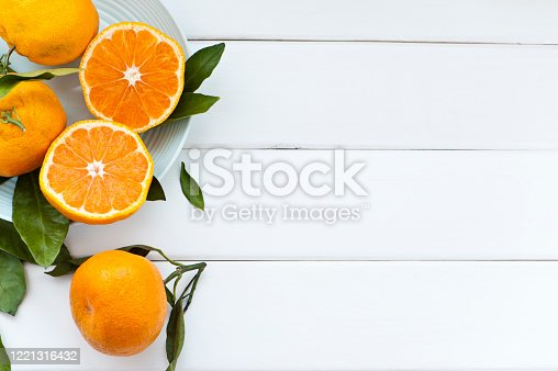 close up of sumo tangerines, sumo oranges still life