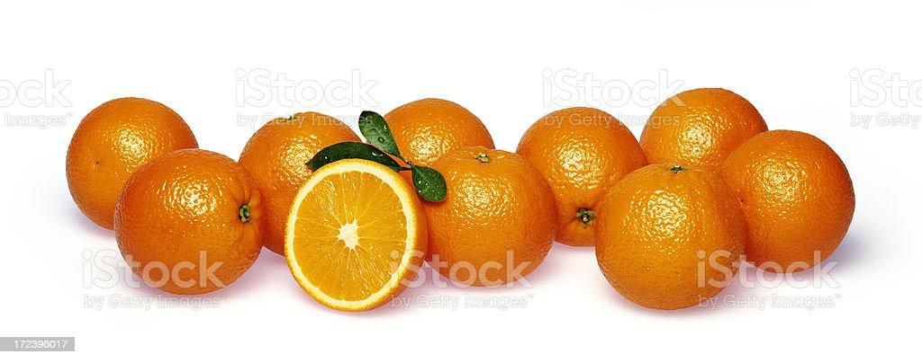 Oranges volume (1) royalty-free stock photo