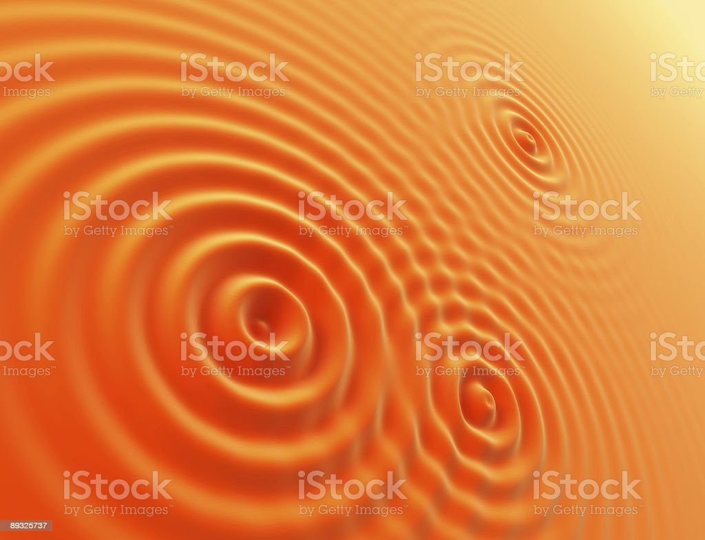 oranges waves stock photo