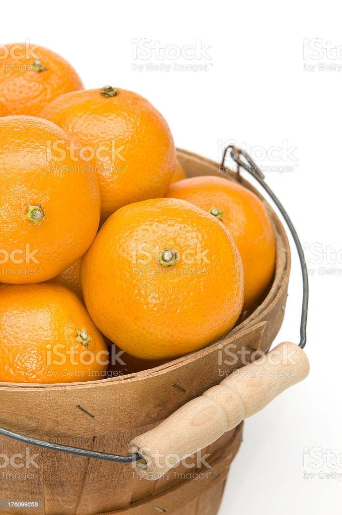 Oranges-close up stock photo