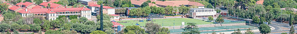 Oranje Meisieskool as seen from Naval Hill stock photo