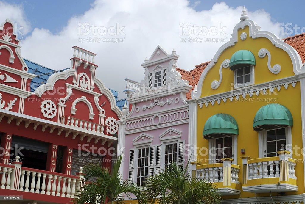 Oranjestad architektury, Aruba – zdjęcie