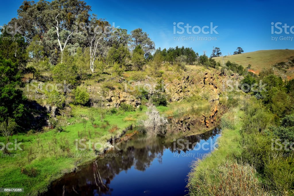 Orbost River stock photo