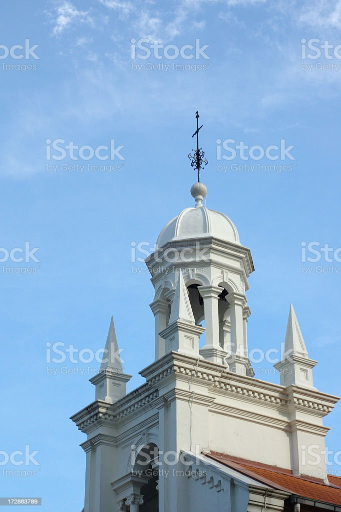 Orchard Road Presbyterian Church royalty-free stock photo