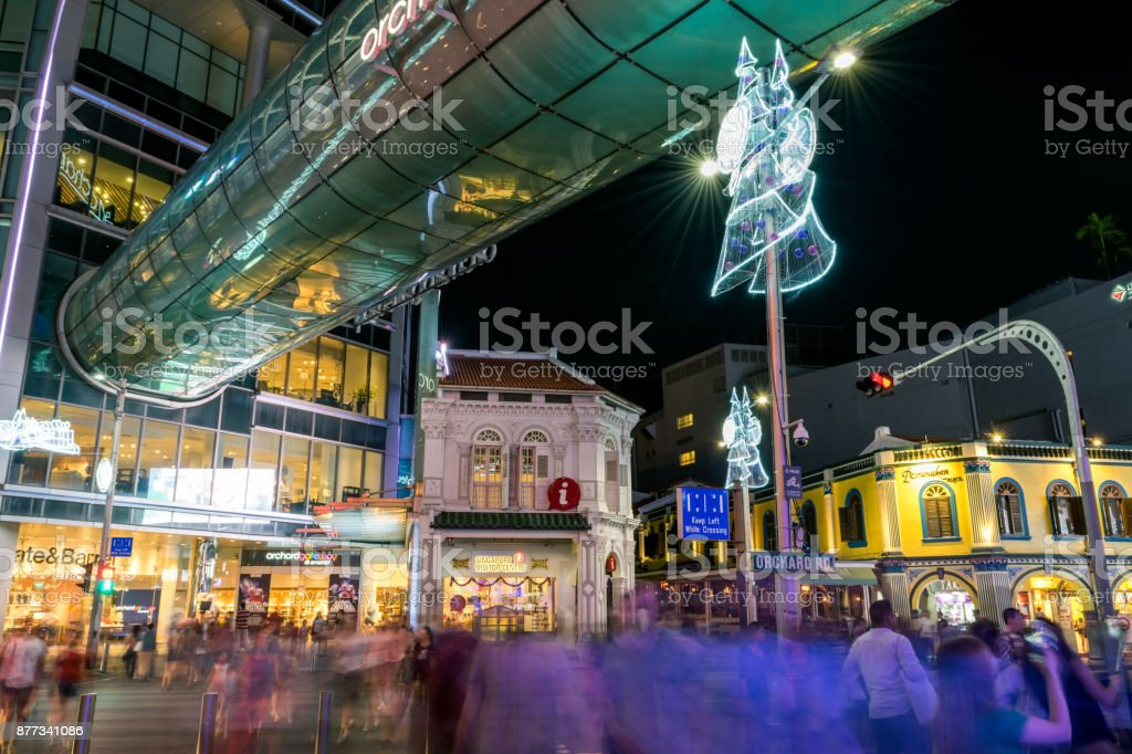 Orchard Road, Singapore stock photo