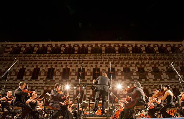Orchester am Plaza Alta, Spanien – Foto