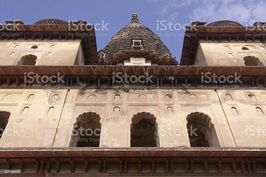 Orchha in Madhya Pradesh, India stock photo