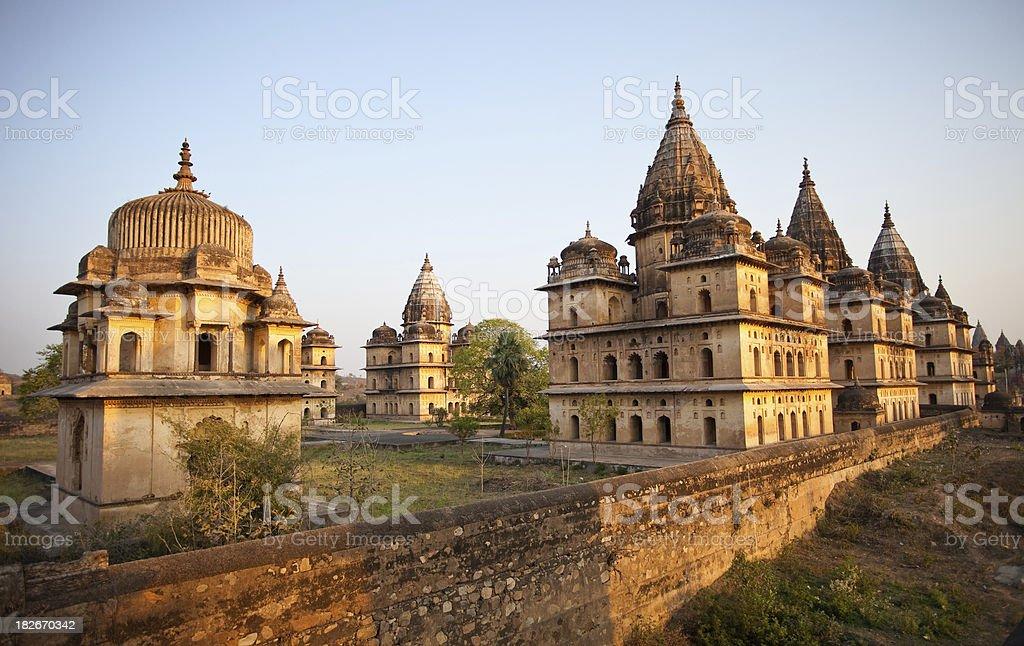 Orchha, India royalty-free stock photo