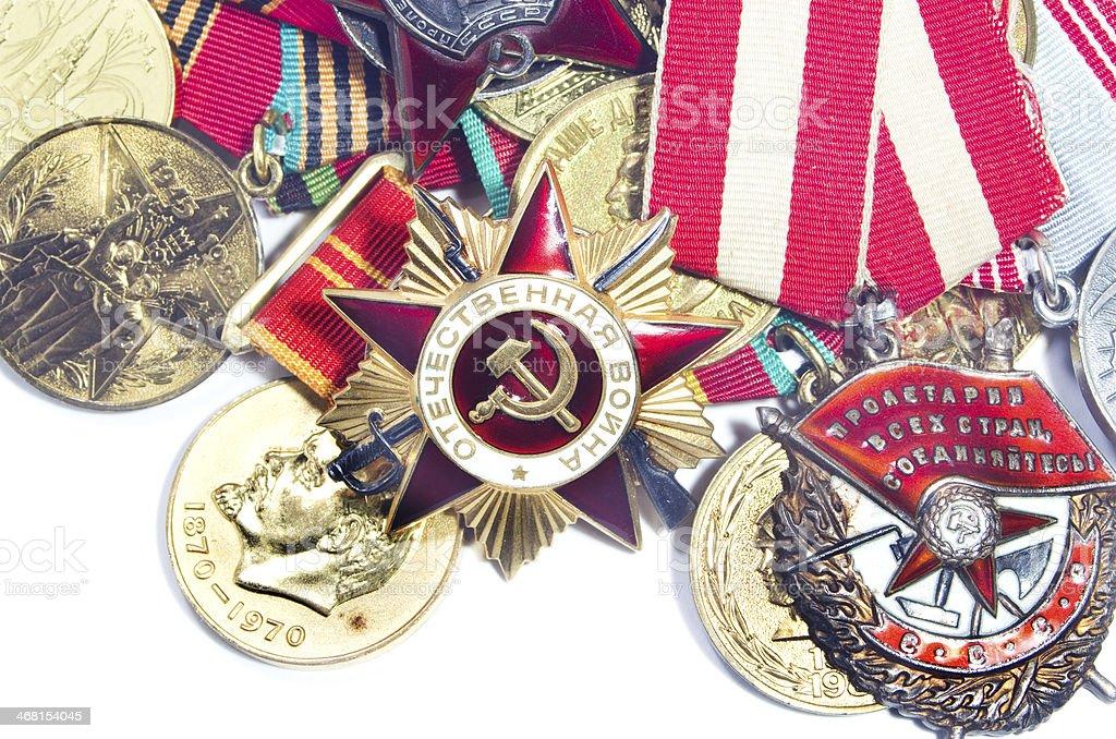Order of the Soviet Union stock photo