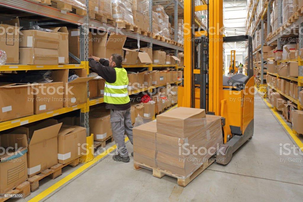 Order Picking stock photo