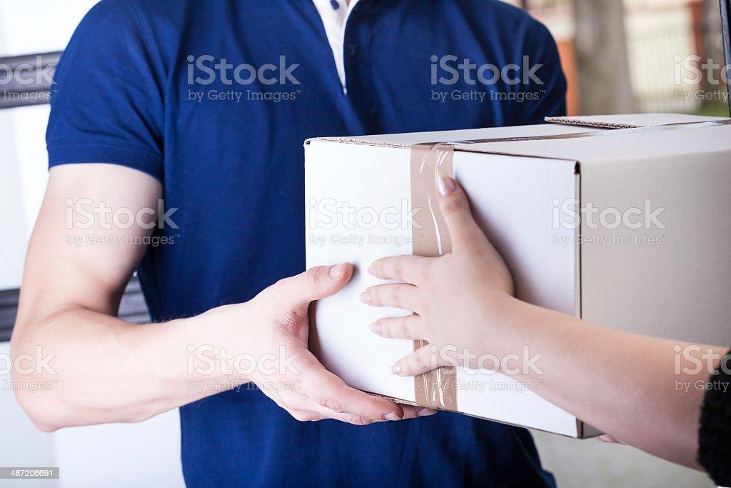 Order transfer stock photo