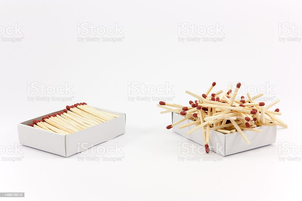 Order vs. Chaos royalty-free stock photo