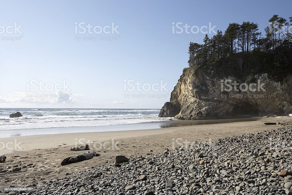 USA, Oregon, Cannon beach 免版稅 stock photo