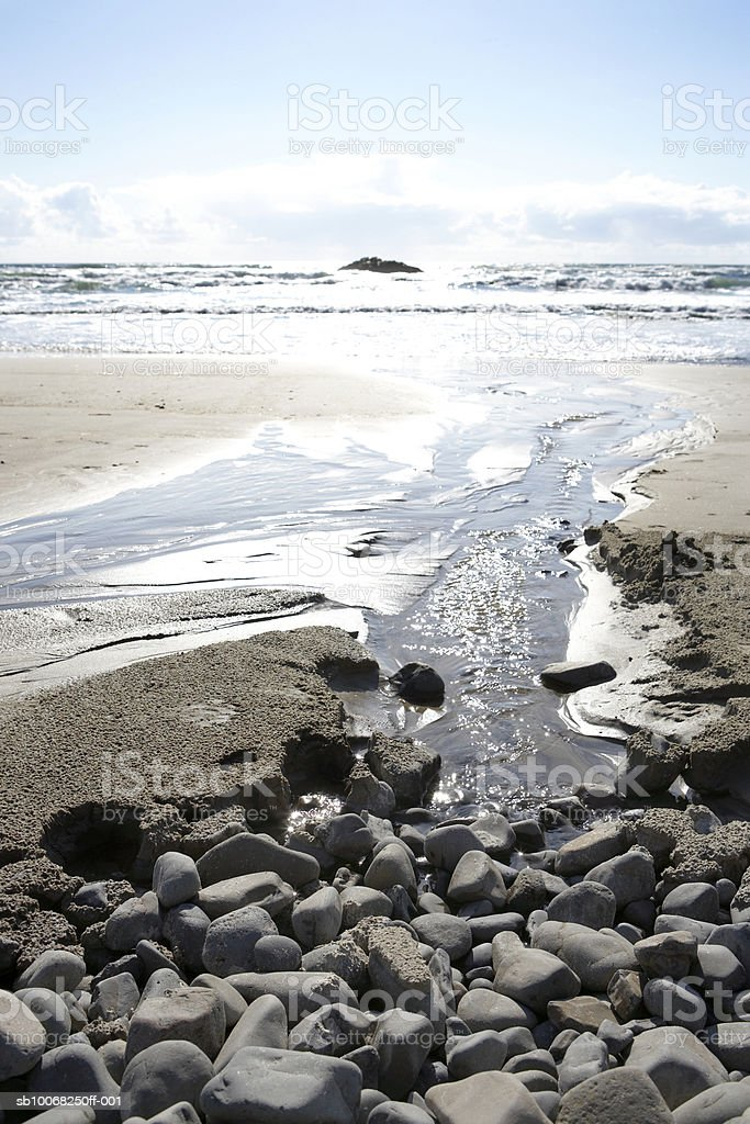 USA, Oregon, Cannon beach royalty free stockfoto