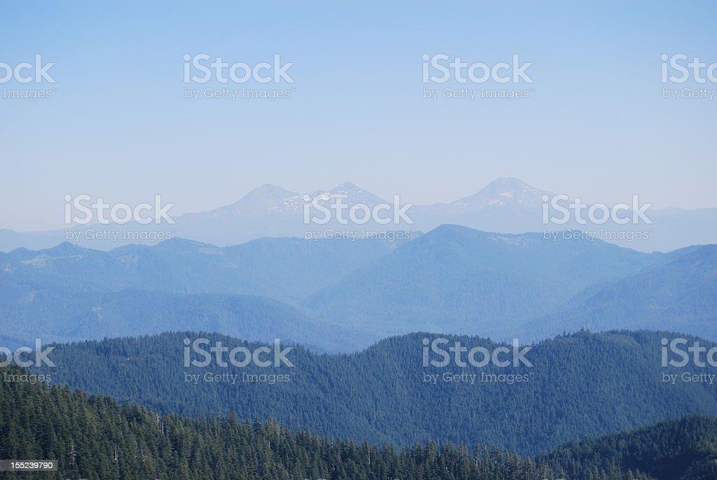 Oregon Cascade view royalty-free stock photo