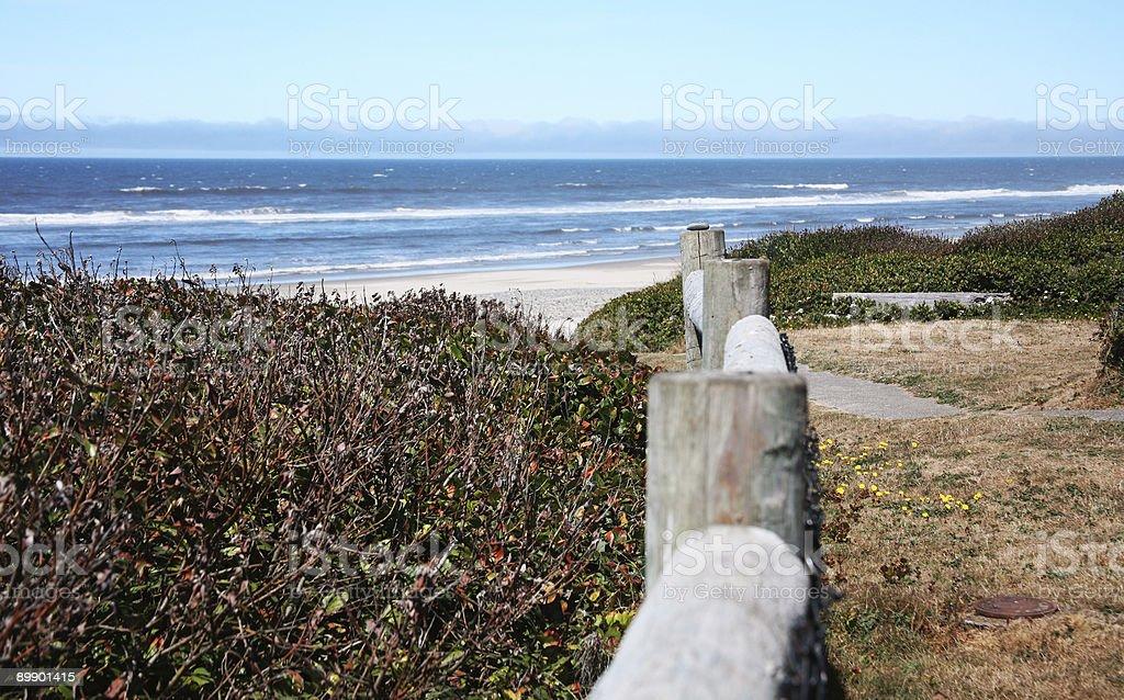Oregon Coast - Florence royalty-free stock photo