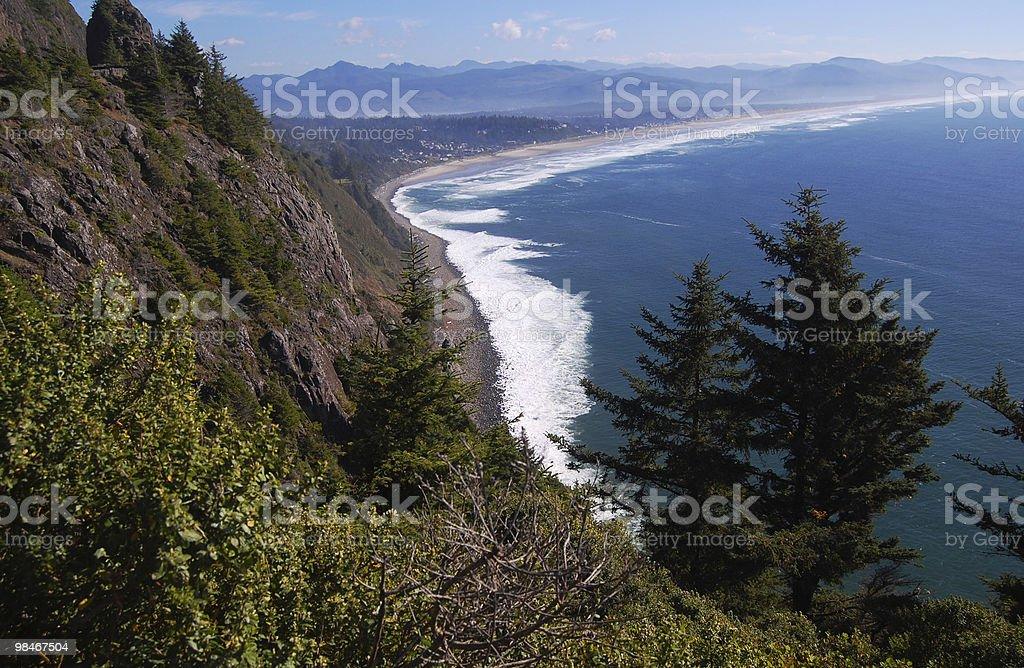 Oregon Coast royalty-free stock photo