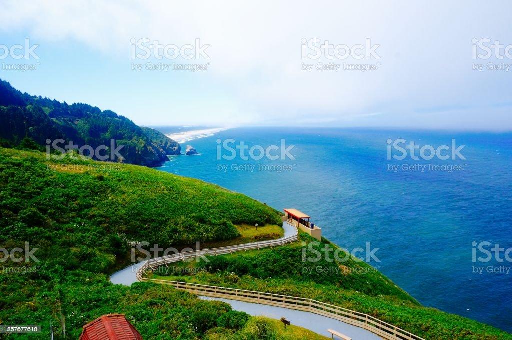 Oregon Coast, Views from Highway 101 stock photo