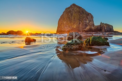 istock Oregon coastal region of the United States 1145691808