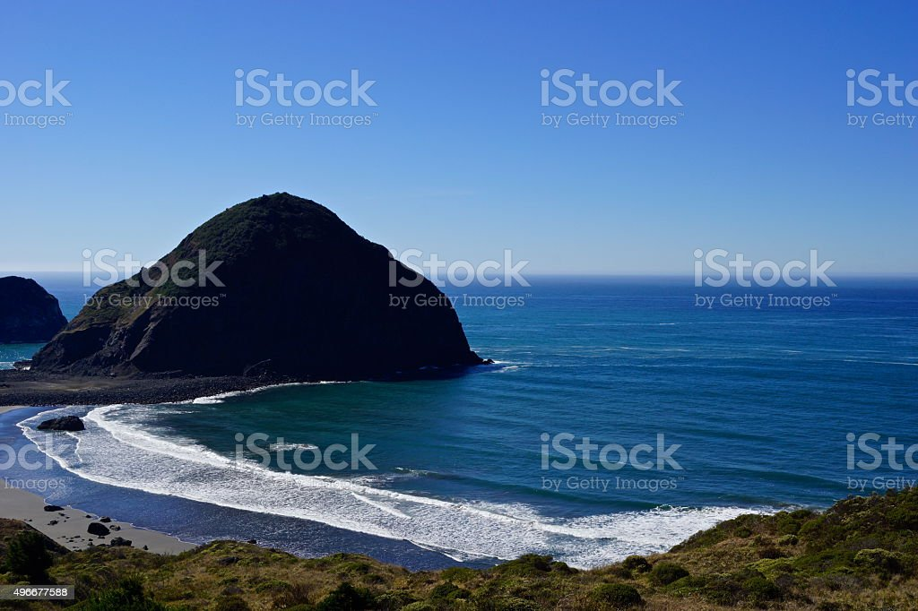 Oregon Hidden Beach stock photo
