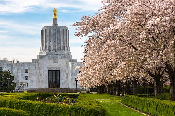 Oregon State Capital Building stock photo