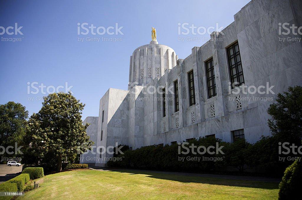 Oregon State Capitol - Salem stock photo