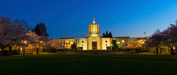 Oregon State Capitol, Salem - foto stock