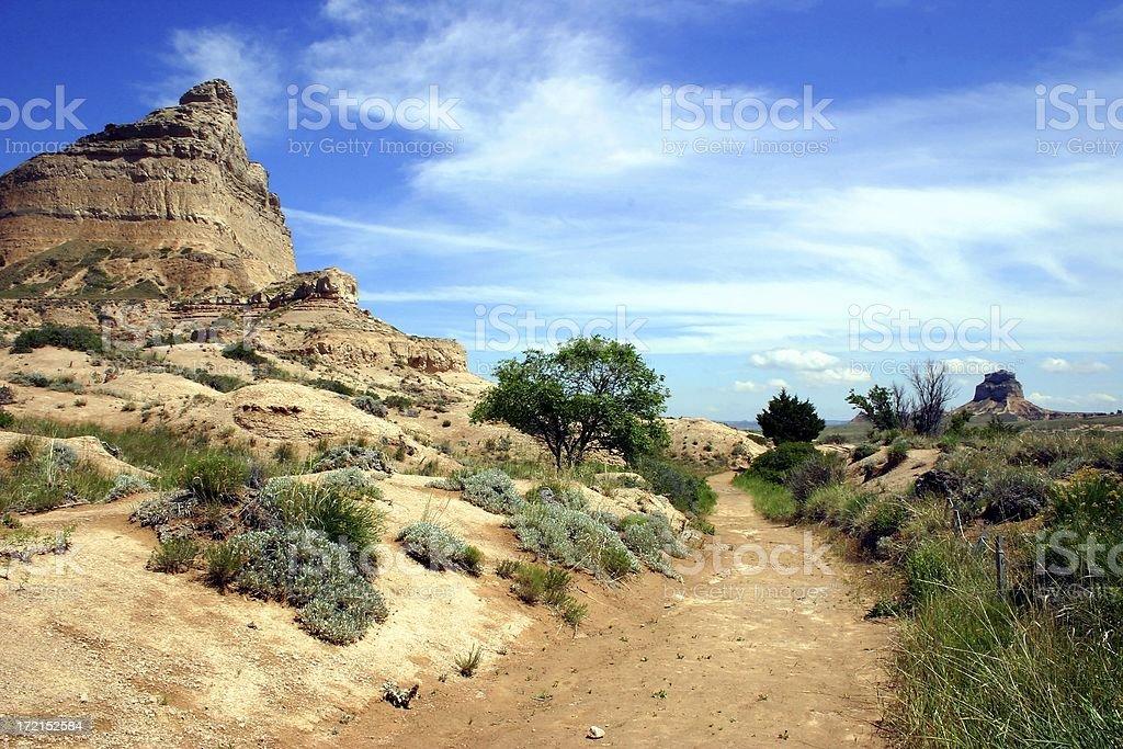 Oregon Trail stock photo