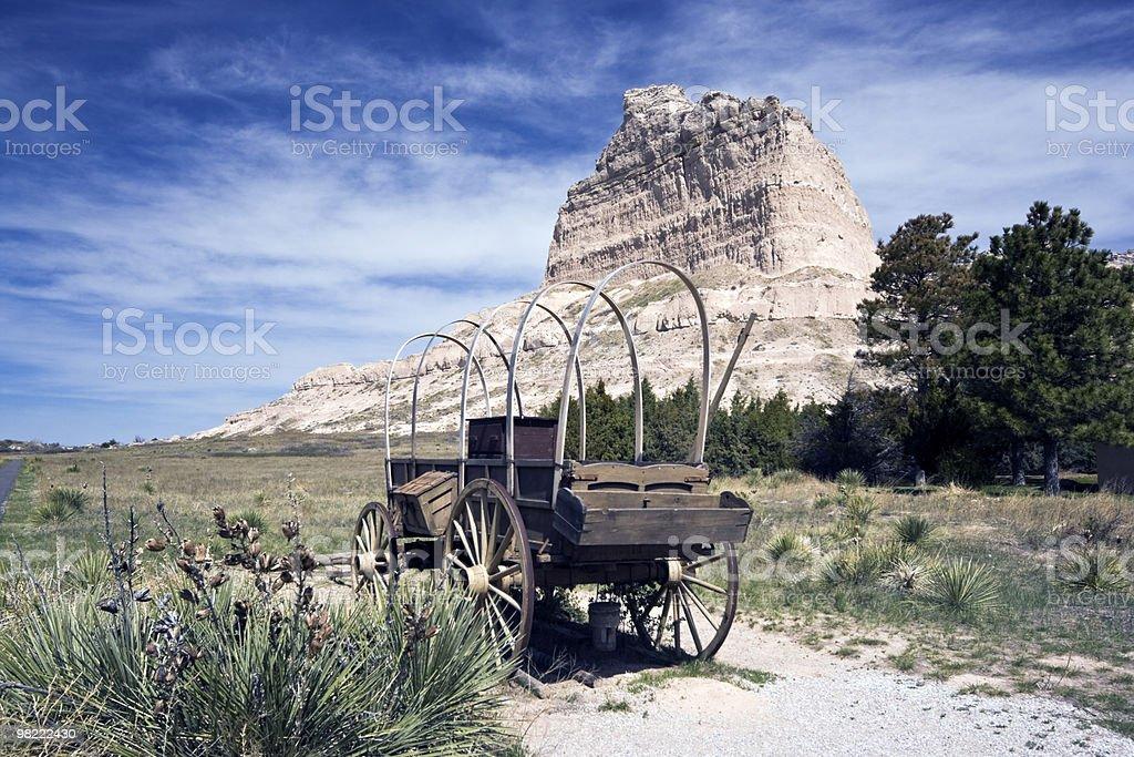 Oregon Trail royalty-free stock photo