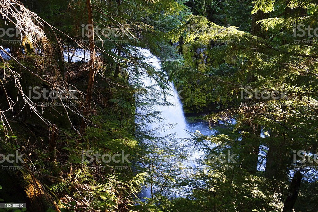 Oregon's Puzzle Creek stock photo