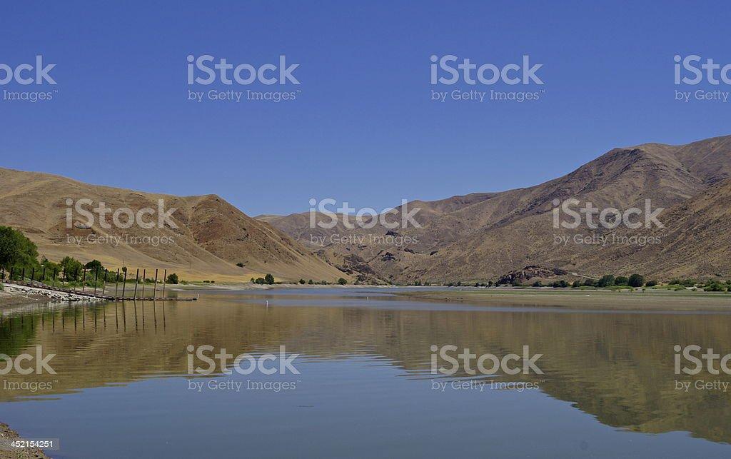 Oregon's Snake River stock photo