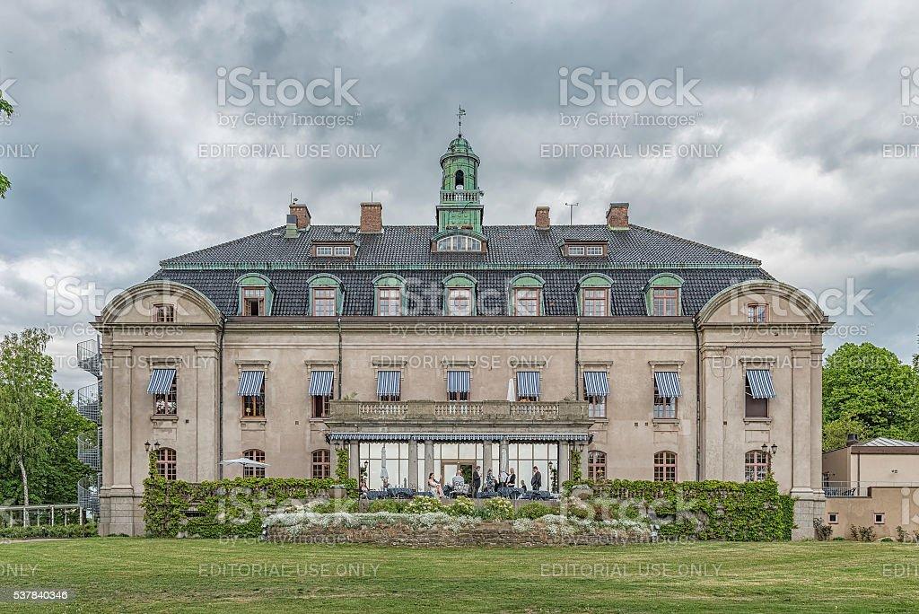 Orenas Castle Hotel stock photo