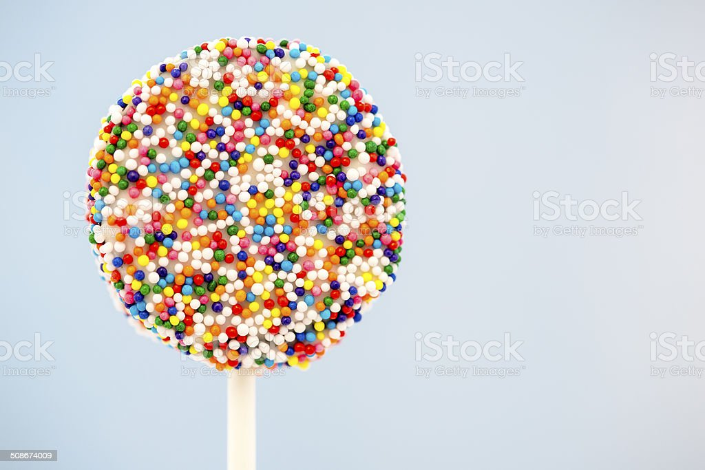 Oreo Cake Pop stock photo