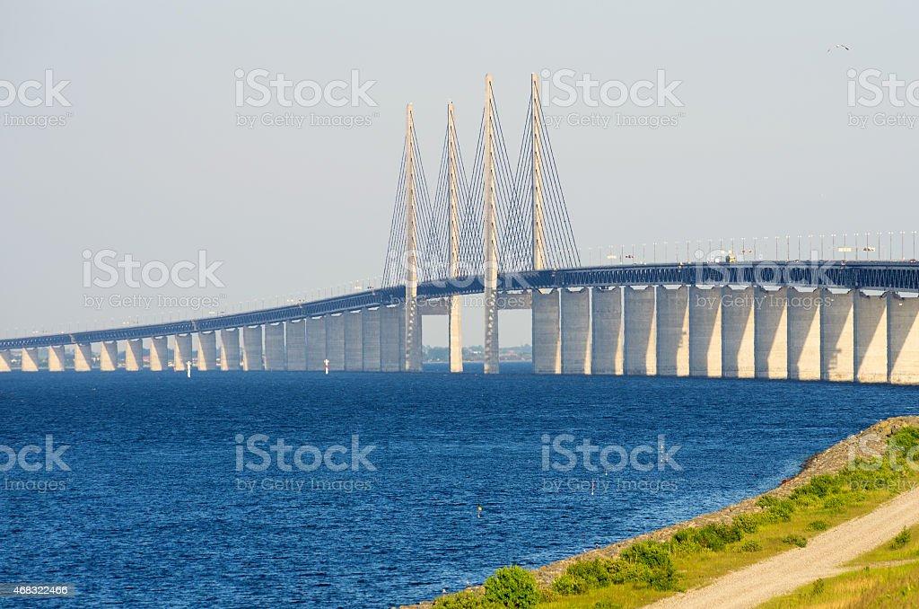 Oresund Bridge. Europe stock photo