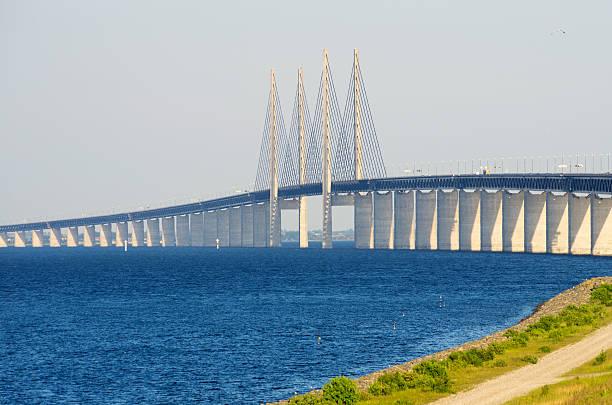 oresund bridge. europe - öresund bildbanksfoton och bilder