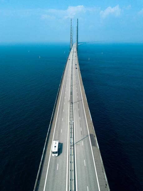öresundsbron - öresundsregionen bildbanksfoton och bilder