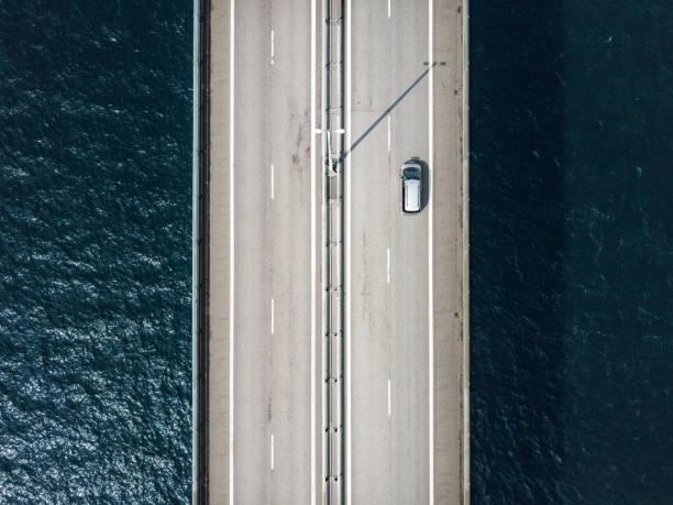 öresundsbron - drone copenhagen bildbanksfoton och bilder