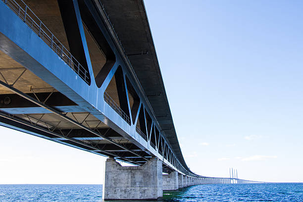 oresund bridge - öresund bildbanksfoton och bilder