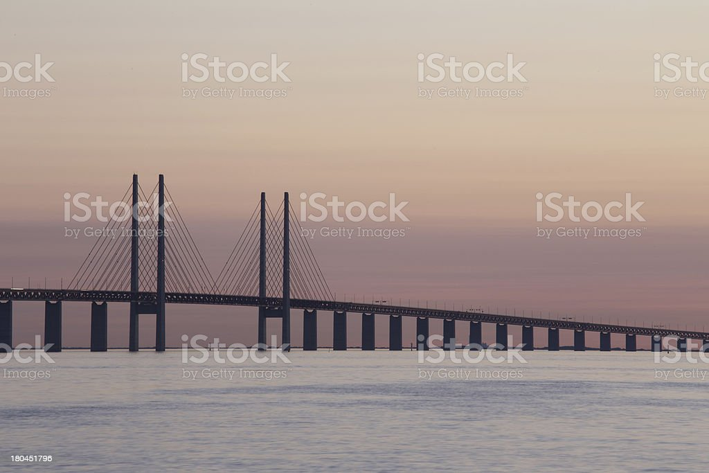 Oresund Bridge - Sweden stock photo