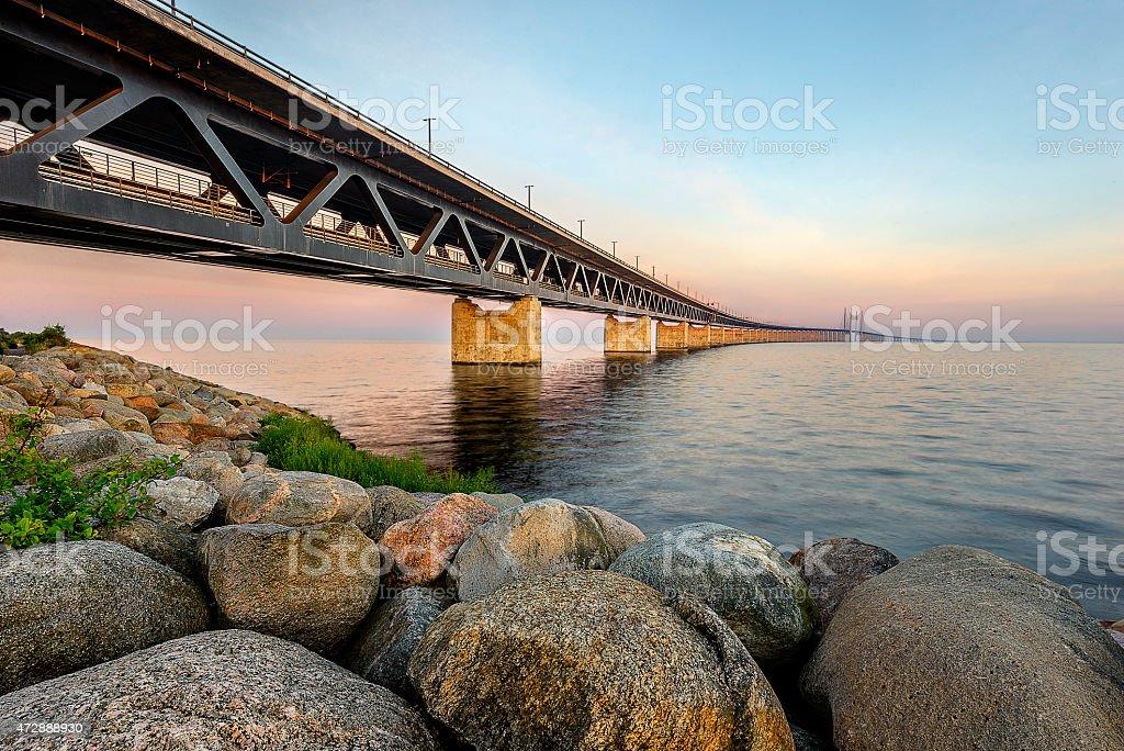 Oresund Bridge,Malamo, Sweden, Scandinawia stock photo
