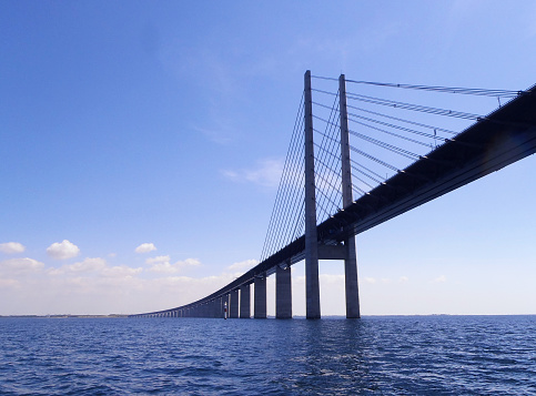 Oresundsbron Bridge Stock Photo - Download Image Now