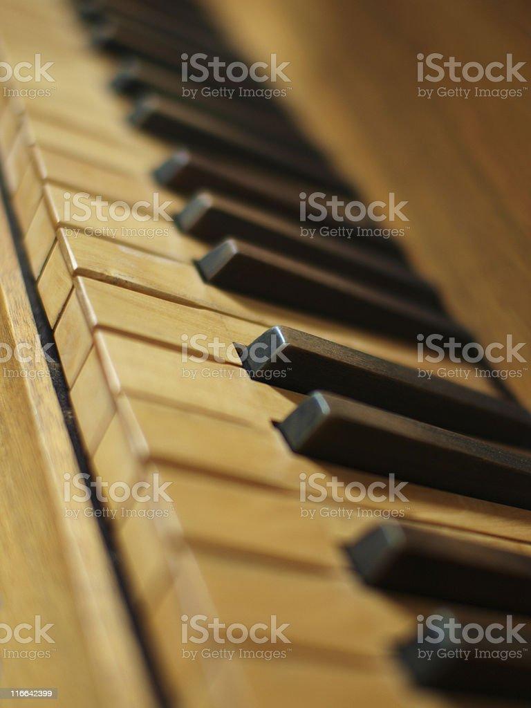 Organ-Tastatur – Foto