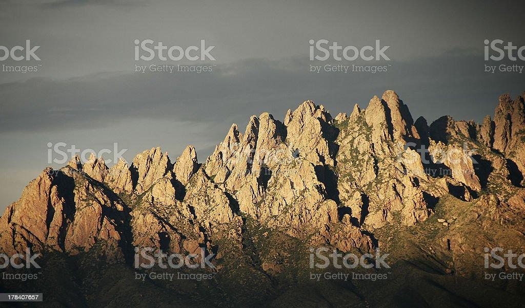 Organ Mountains Closeup royalty-free stock photo