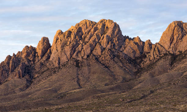 Organ Mountains Desert Peaks National Monument, New Mexico. stock photo