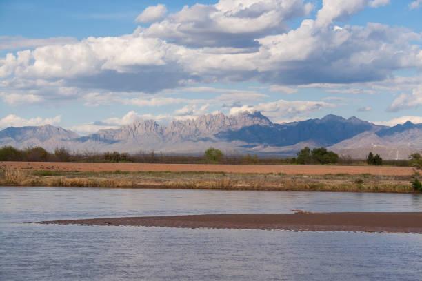 Organ Mountains stock photo