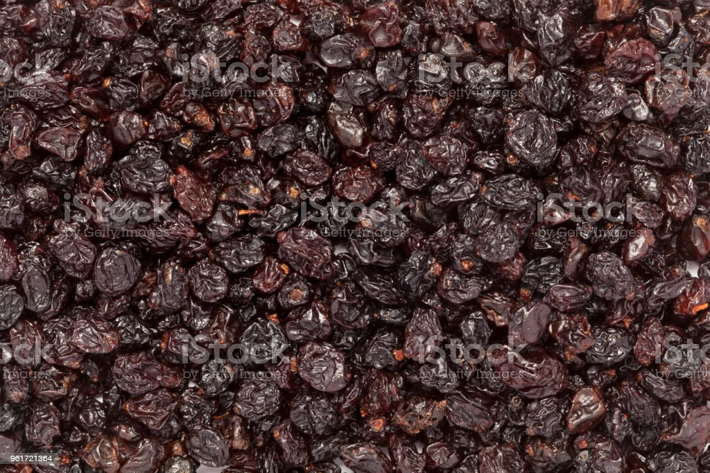 Organic Air Dried Blueberries Stock Photo - Download Image