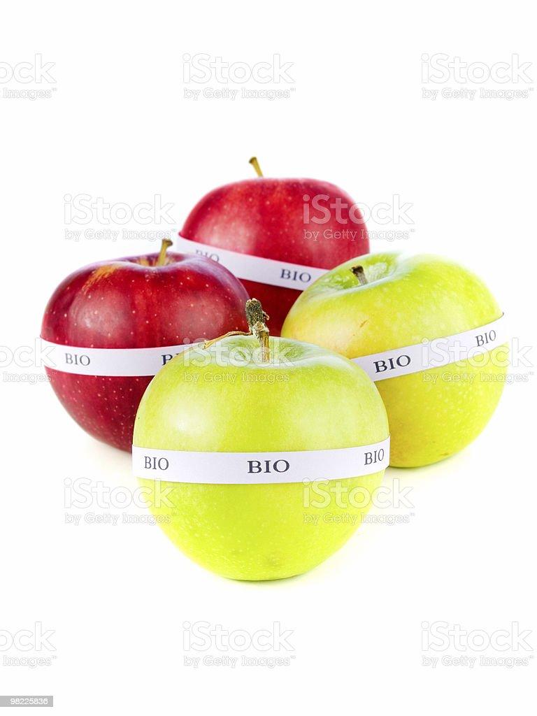 Organic apples royalty-free stock photo